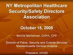 NY Metropolitan Healthcare Security