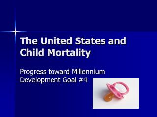 The United States and Child Mortality