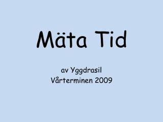 M ta Tid