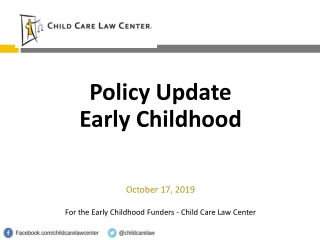 Department of Child and Families Fiscal Update