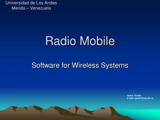 Radio Mobile