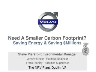 Need A Smaller Carbon Footprint   Saving Energy  Saving Millions
