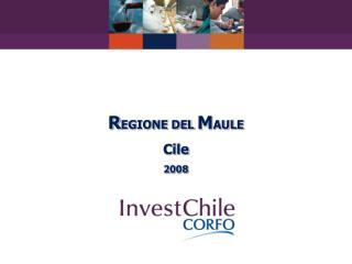 REGIONE DEL MAULE Cile 2008