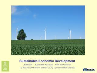 Sustainable Economic Development 05