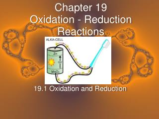 Chapter 19 Oxidation - Reduction Reactions