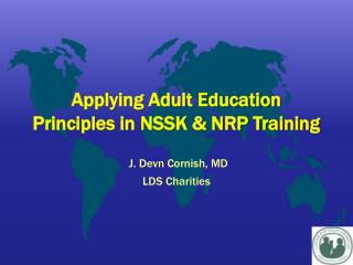 Applying Adult Education Principles in NSSK  NRP Training