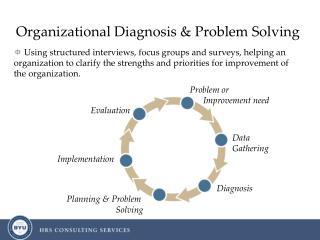 Organizational Diagnosis  Problem Solving