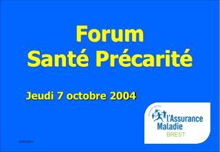 Forum  Sant  Pr carit