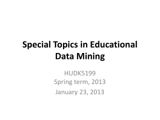 Knowledge discovery  data mining   Tools, methods, and experiences