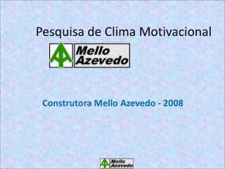Pesquisa de Clima Motivacional