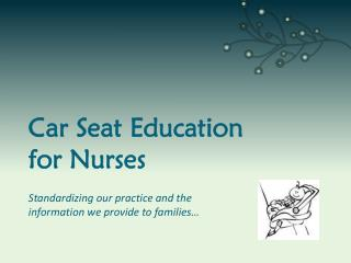 Car Seat Education