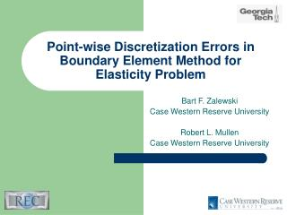 Point-wise Discretization Errors in Boundary Element Method for Elasticity Problem
