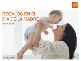 REGALOS EN EL D a de la madre