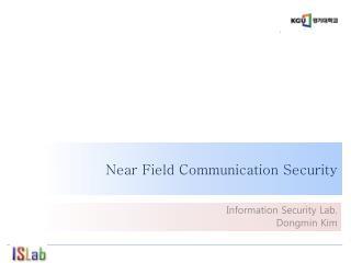 Near Field Communication Security