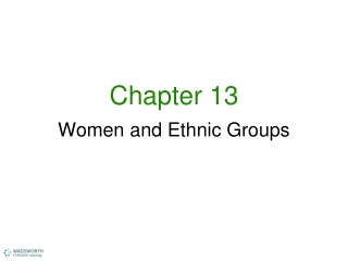 Chapter 13 COUNSELING WOMEN