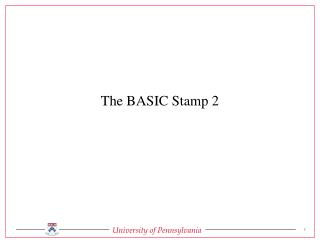 The BASIC Stamp 2