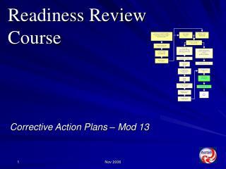 Corrective Action Plans   Mod 13