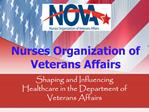 Nurses Organization of Veterans Affairs