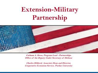 Extension-Military Partnership