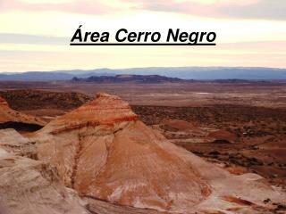 rea Cerro Negro