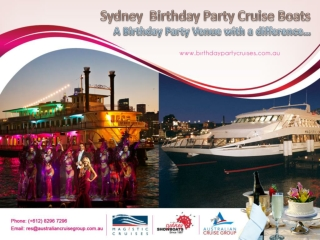 Birthday Celebrations Venue in Sydney
