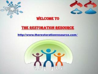 The Restoration Resource   damage restoration