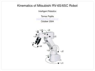 Kinematics of Mitsubishi RV-6S