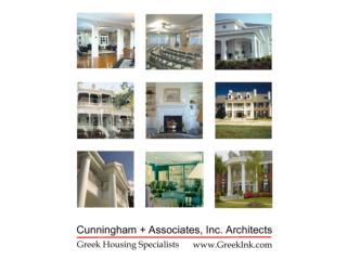 Architect: Cunningham  Associates