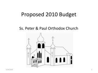 Proposed 2010 Budget