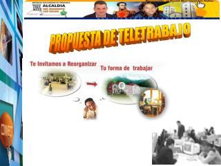 PROPUESTA DE TELETRABAJO