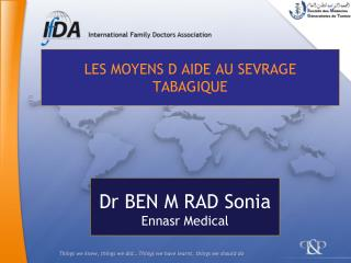 LES MOYENS D AIDE AU SEVRAGE TABAGIQUE