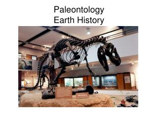 Paleontology Earth History