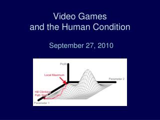 Video Games  and the Human Condition
