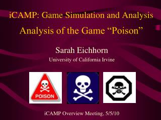 ICAMP: Game Simulation and Analysis   Analysis of the Game  Poison