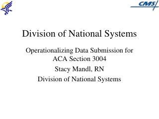 Division of National Systems