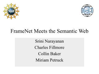 FrameNet Meets the Semantic Web
