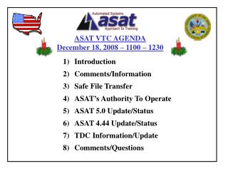 onComments/InformationSafe File TransferASAT