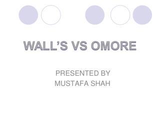 PRESENTED BY  MUSTAFA SHAH