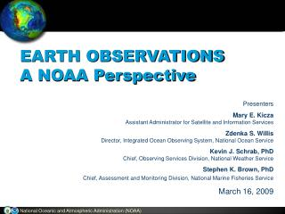 National Oceanic and Atmospheric Administration NOAA