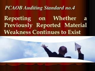 PCAOB Auditing Standard no.4