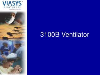3100B Ventilator