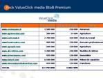 Pack ValueClick media BtoB Premium