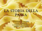 La storia della pasta