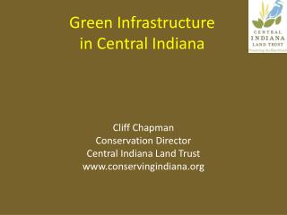 Green Infrastructure  in Central Indiana