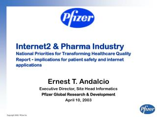 Internet2  Pharma Industry