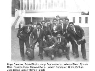 Hugo O connor, Pablo Ribeiro, Jorge Scaccabarrozzi, Alberto Sialer, Ricardo D az, Eduardo Kuan, Carlos Ar valo, Homero R