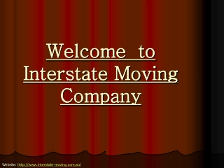 Get Best Removals service from expert when moving Interstate