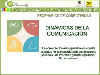 ESCENARIOS DE CONECTIVIDAD