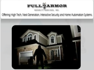 Home Alarm Systems Dayton