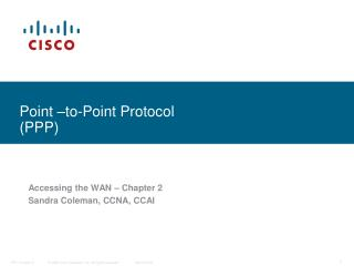 Point  to-Point Protocol PPP